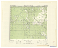National Topographic Series (scale 1:126,720) : Dawson Creek, British Columbia [sheet 93P/NE]