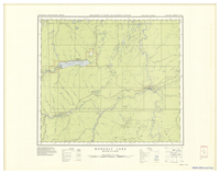National Topographic Series (scale 1:126,720) : Moberly Lake, British Columbia [sheet 93P/NW]