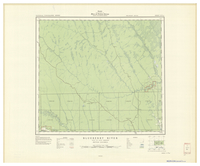 National Topographic Series (scale 1:126,720) : Blueberry River, British Columbia [sheet 94A/NW]