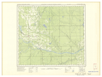 National Topographic Series (scale 1:126,720) : Fort St. John, British Columbia [sheet 94A/SE]