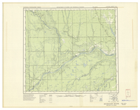 National Topographic Series (scale 1:126,720) : Hudson Hope, British Columbia [sheet 94A/SW]