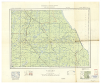 National Topographic Series (scale 1:126,720) : Tomiko, Ontario [sheet 31L/NW]