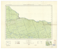 National Topographic Series (scale 1:126,720) : Mattawa, Ontario [sheet 31L/SE]