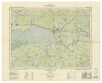 National Topographic Series (scale 1:126,720) : North Bay, Ontario [sheet 31L/SW]