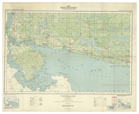 National Topographic Series (scale 1:126,720) : Thessalon, Ontario [sheet 41I/SW & 41K/SE]