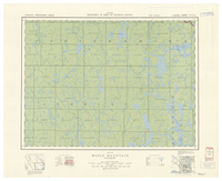National Topographic Series (scale 1:126,720) : Maple Mountain, Ontario [sheet 41P/SE]