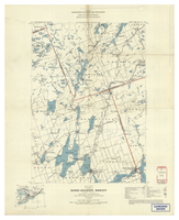 National Topographic Series (scale 1:126,720) : Bobcaygeon, Ontario, Map 471A [sheet 31D/NE west half]