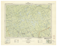 National Topographic Series (scale 1:126,720) : Algonquin, Ontario [sheet 31E/NE]