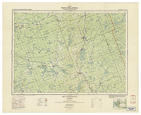 National Topographic Series (scale 1:126,720) : Sundridge, Ontario [sheet 31E/NW]
