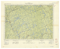 National Topographic Series (scale 1:126,720) : Haliburton, Ontario [sheet 31E/SE]