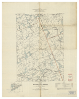 National Topographic Series (scale 1:126,720) : Haliburton, Ontario, Map 468A [sheet 31E/SE east half]