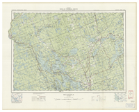 National Topographic Series (scale 1:126,720) : Muskoka, Ontario [sheet 31E/SW]
