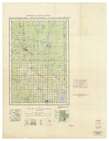 National Topographic Series (scale 1:126,720) : New Liskeard, Ontario [sheet 31M/NW]