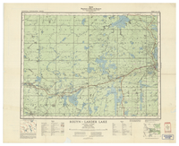 National Topographic Series (scale 1:126,720) : Rouyn-Larder Lake, Ontario-Quebec [sheet 32D/SW]