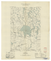 National Topographic Series (scale 1:126,720) : Capreol, Ontario, Map 589A [sheet 41I/NE/West]