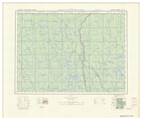 National Topographic Series (scale 1:126,720) : Westree, Ontario [sheet 41P/SW]