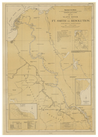 Map of Slave River : Ft. Smith to Resolution, Northwest Territories