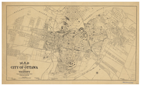 Map of the City of Ottawa and vicinity