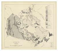 Geological map of Canada [1960]