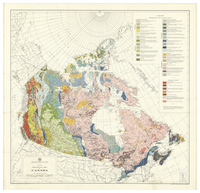Geological map of Canada [1962]