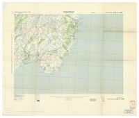 National Topographic Series (scale 1:125,000) : Trepassey, Newfoundland [parts of sheets 1K/NW east half and 1K/NE west half]
