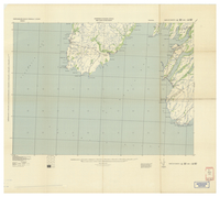 National Topographic Series (scale 1:125,000) : Branch, Newfoundland [parts of sheets 1L/NE east half and 1K/NW west half]