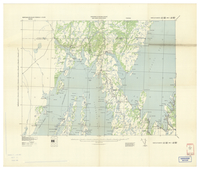 National Topographic Series (scale 1:125,000) : Rantem, Newfoundland [parts of sheets 1M/NE east half and 1N/NW west half]