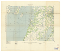 National Topographic Series (scale 1:125,000) : Placentia, Newfoundland [parts of sheets 1M/SE east half and 1N/SW west half]