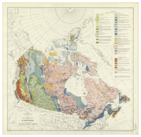 Geological map of Canada [1955]