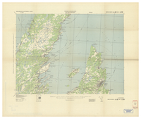 National Topographic Series (scale 1:125,000) : St. Johns, Newfoundland [parts of sheets 1N/NW east half and 1N/NE west half]