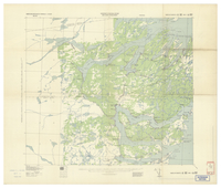 National Topographic Series (scale 1:125,000) : Milton, Newfoundland [parts of sheets 2D/SE east half and 2C/SW west half]