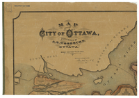 Map of the City of Ottawa [Northwest]