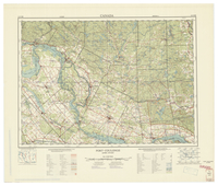 National Topographic Series (scale 1:125,000) : Fort Coulonge, Quebec-Ontario [sheet 31F/NE]