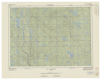 National Topographic Series (scale 1:125,000) : Lac Dumoine, Quebec [sheet 31K/NW]