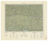 National Topographic Series (scale 1:125,000) : Mattawa, Ontario-Quebec [sheet 31L/SE]