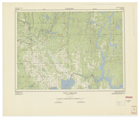 National Topographic Series (scale 1:125,000) : New Liskeard, Quebec-Ontario [sheet 31M/NW]