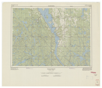 National Topographic Series (scale 1:125,000) : Haileybury, Ontario-Quebec [sheet 31M/SW]