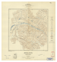 National Topographic Series (scale 1:125,000) : Bridge River, British Columbia [sheet 92J/NE]