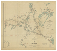 Map to accompany a report on the exploration at Lake Chibogomo