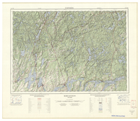National Topographic Series (scale 1:125,000) : Bobcaygeon, Ontario [sheet 31D/NE]