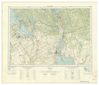 National Topographic Series (scale 1:125,000) : Orillia, Ontario [sheet 31D/NW]