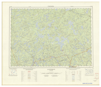 National Topographic Series (scale 1:125,000) : Algonquin, Ontario [sheet 31E/NE]