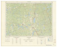 National Topographic Series (scale 1:125,000) : Sundridge, Ontario [sheet 31E/NW]