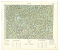 National Topographic Series (scale 1:125,000) : Haliburton, Ontario [sheet 31E/SE]