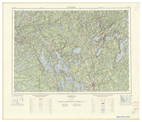 National Topographic Series (scale 1:125,000) : Muskoka, Ontario [sheet 31E/SW]