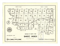 Borough of North York: sheet index