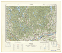 National Topographic Series (scale 1:125,000) : Buckingham, Quebec-Ontario [sheet 31G/NW]