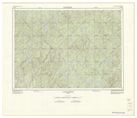 National Topographic Series (scale 1:125,000) : L'Ascension, Quebec [sheet 31J/NE]