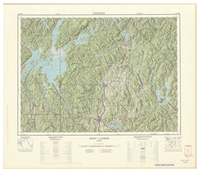 National Topographic Series (scale 1:125,000) : Mont-Laurier, Quebec [sheet 31J/NW]