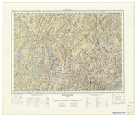 National Topographic Series (scale 1:125,000) : Ste-Agathe, Quebec [sheet 31J/SE]